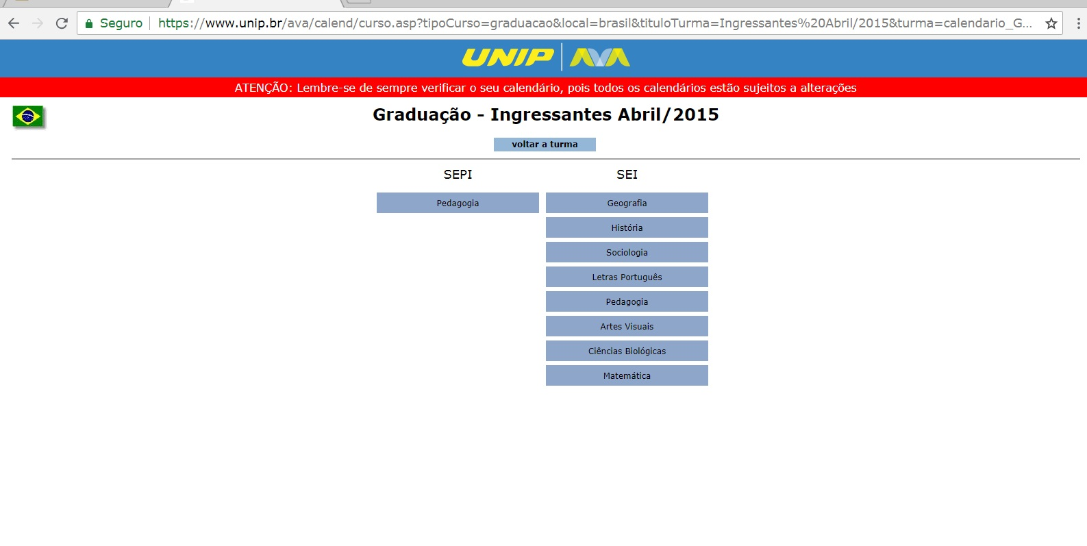 manual do aluno unip provas substitutivas