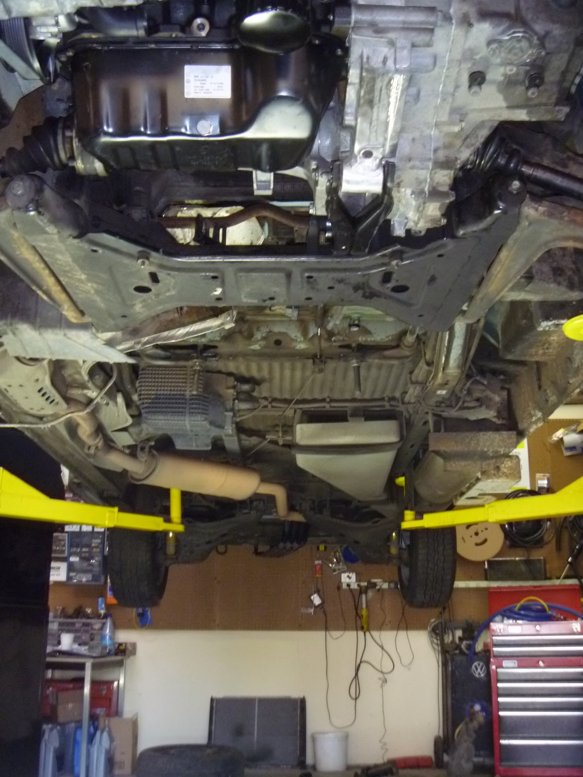 swap tdi from auto to manual