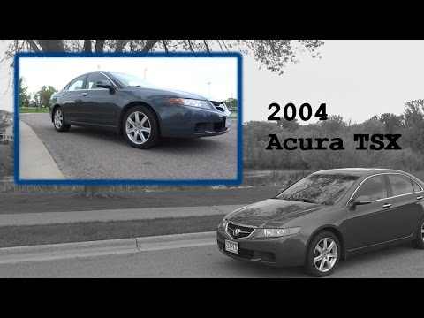 2004 acura tsx manual gas mileage
