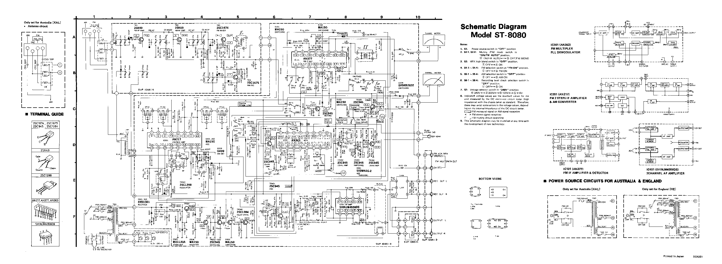 technics sl-b200 service manual