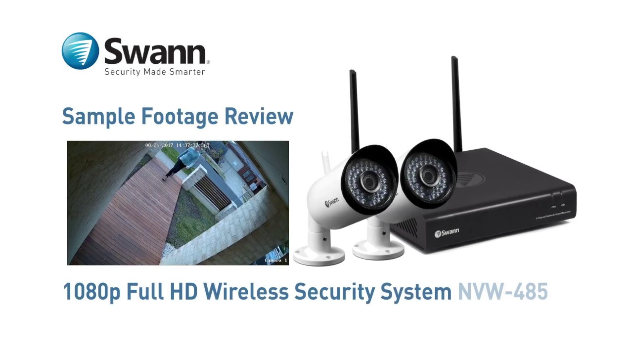 swann 485 security system manual
