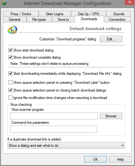how to download using idm manually
