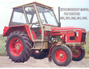 shop manual for zetor 12045