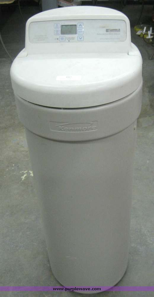 kenmore ultrasoft water softener manual