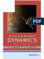 engineering mechanics dynamics 6th edition solution manual meriam kraige pdf