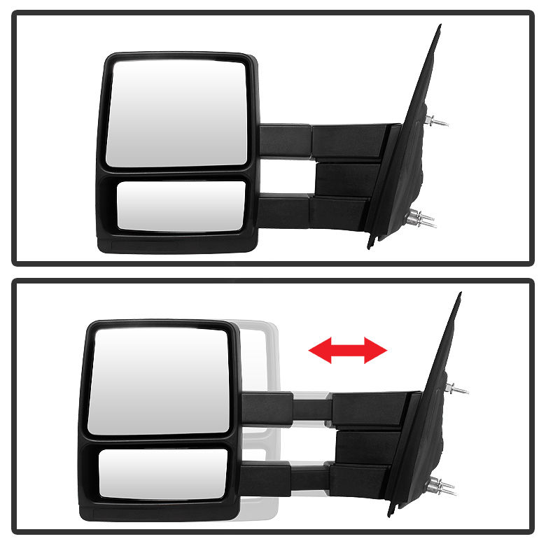 do manual exterior mirrors fold on 2013 outback