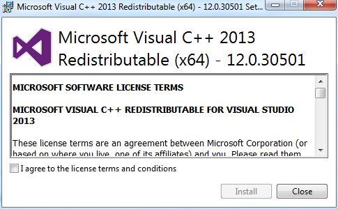download a redistributable setup file that can be run manually