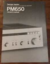 harman kardon pm640 vxi manual
