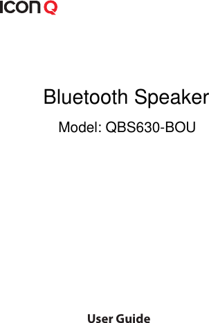 headrush icon bluetooth speaker manual