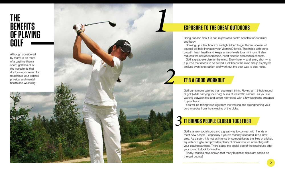 rules of golf online manual